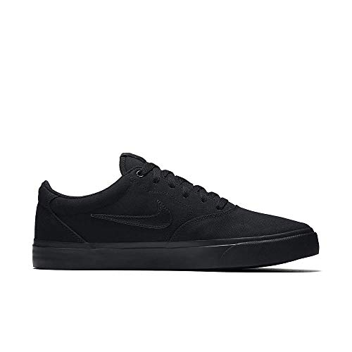Nike Herren Sb Charge Solarsoft Skateboardschuhe, Schwarz (Black/Black-Black 001), 42 EU
