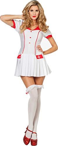 Krankenschwestern Kostüm Sexy - Sexy Krankenschwester Kostüm Madison-Damen 40