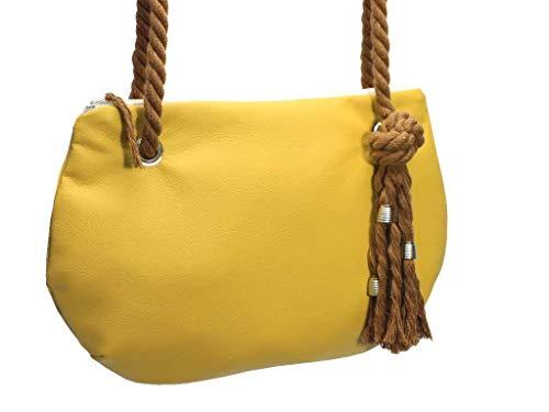 Gelbe Handtasche - 5