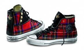 Converse Limited Edition Wool Tartan Mis.36