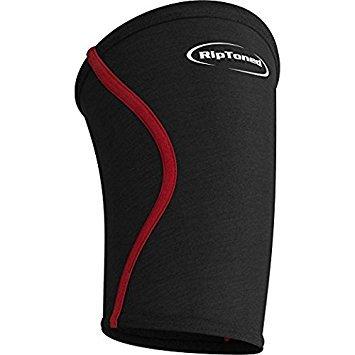 Kniebandage Sleeve (1)-Kompression für Gewichtheben, Powerlifting, Crossfit, Kniebeugen, Schmerzlinderung & Laufen-von Rip straffen, lebenslange Garantie. -