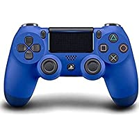 Plug in Dualshock 4 Wireless PS4 v2 Gaming Controller for PlayStation 4(PlayStation 4)(Blue controller)