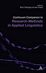 [(Continuum Companion to Research Methods in Applied Linguistics)] [Edited by Brian Paltridge ] published on (April, 2010)