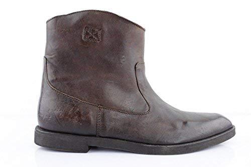 Diesel D-Liza Marron Foncé Femme Bottines Bottes d'hiver Chaussures Chelsea Boots Bottes