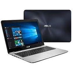"Asus R558UQ-DM513D 15.6"" FHD Screen Laptop (Core I5 7TH GEN, 4GB DDR4 RAM, 1TB HDD, DVD RW, 2GB NVIDIA 940M Graphics, DOS), 2 Years Warranty"