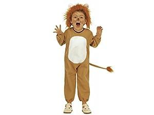 WIDMANN Pequeño león Unisex Infantil Disfraz tamaño: 110