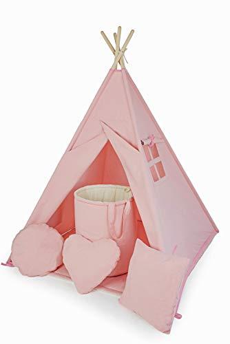 Tweepsy Kit de Tienda Infantil Tipi Teepee para los Juegos de Sus Hijos para Interiores y Exteriores