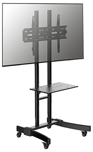 VCM B-MS Support TV Acier, Noir, Taille Unique