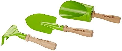 Everearth Outillage De Jardin Pour Enfants - Kit d'outils à