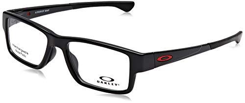 Ray-Ban Herren 0OX8121 Brillengestelle, Schwarz (Polished Black), 53