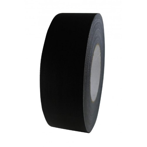 "Premium Tape STAGE-80 schwarz matt ""Ultra Strong"" Profi Gewebeband Gaffa Gaffer Tape Duct Klebeband Panzertape Panzerband Gewebeklebeband Steinband"