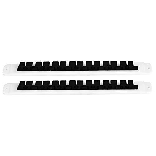 Angelrute Pole Reel, 2 Stücke Angelrute Pole Reel Halter Garage Decke Wandhalterung Stangen Rack Organizer Angelrutenhalter Halterung -