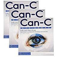 CAN-C Eye Drops 2x 5ml Vials - 3 PACK