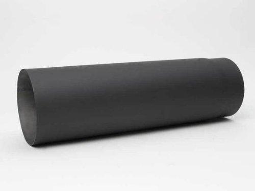 HARK Rauchrohr Fullform Ø150 mm, Verlängerungsrohr 50 cm verengt, graphit