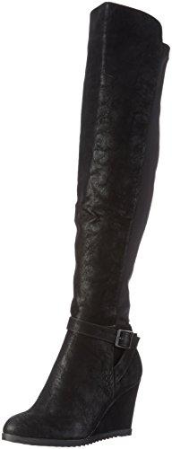 Björn Borg Footwear Bullboxer 037506E7S, Damen Langschaft Stiefel, Schwarz (BLCK), 37 EU