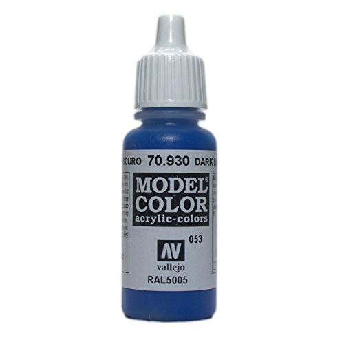 WWG Vallejo Paint Game Color Dark Blue 70.930 - Wargame Miniature Figure Painting Modelling