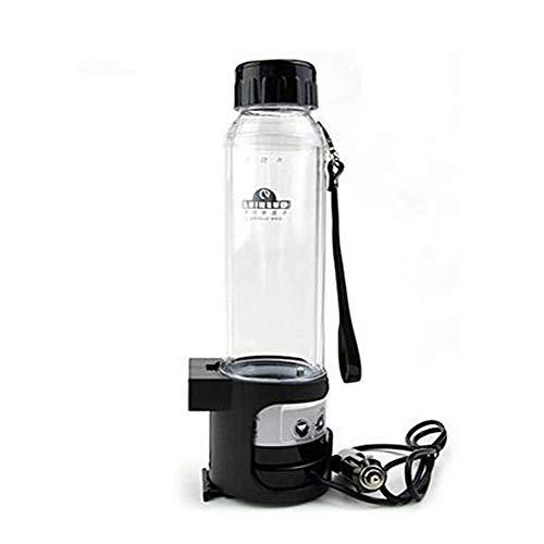 RUIX Auto Wasserkocher,Auto Elektrische Tasse 12V Auto Isolierung Tasse Auto Heißes Wasser Tasse,Black