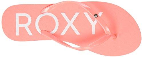 Roxy Sandy, Tongs Femme Rose (PINK/WHITE)