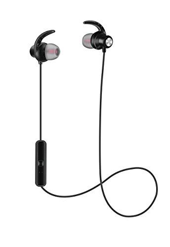 Limxems Auriculares Inalámbricos Bluetooth 4 1, negro