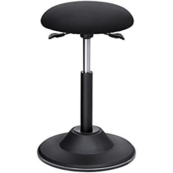 Aimezo Standing Desk Chair With Adjustable Height Stool