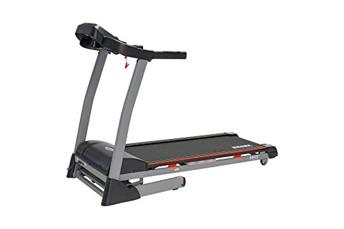 Branx Fitness Foldable 'Cardio Pro' Touchscreen Console Treadmill – 20km/h – 6hp – 0-15 Level Auto Incline – Body Fat Readout – Soft Drop System – Smart Deck Suspension Points