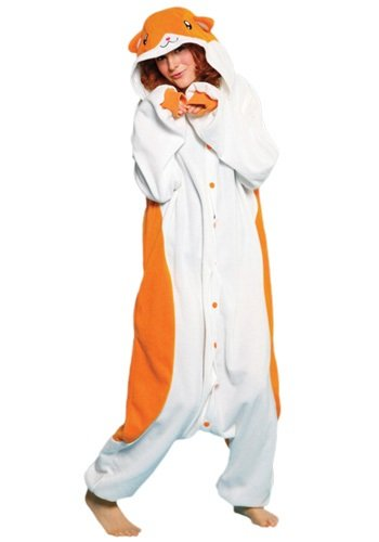 Japan Sazac Original Kigurumi Adult Pajamas Halloween Costumes Kigurumi Hamster Cosplay (japan import)