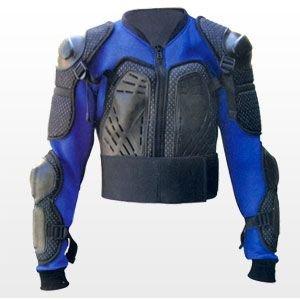 Veste pour protection dorsale - bleu - taille L