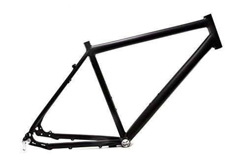 """28"""" Zoll Alu Fahrrad Rahmen Herren Trekking Disc Scheibenbremse Ketten Schaltung Rh 52cm Schwarz matt"""