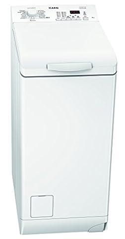 AEG LAVAMAT L62460TL Waschmaschine TL / A+++ / 150 kWh/ Jahr / 1400 UpM / 8990 L/ Jahr / Fassungsvermögen 1 - 6,0 kg / ErgoPro Trommelpositionierung / weiß