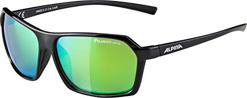 ALPINA Erwachsene Finety P Sonnenbrille, Black matt, One Size
