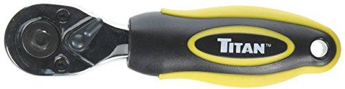Titan Tools 120501/4und 3/8Zoll Antrieb Stubby Ratsche–Mehrfarbig