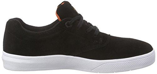 Sneaker Unisex Aquila Globo Nero (nero / Arancio / Bianco)