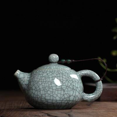 Teekanne Tee-set Crackle Glasur Ge Kiln Longquan Keramik Kunst Chinesische Teekanne Porzellan Ton Antike Teekanne g - Crackle Glas Antik