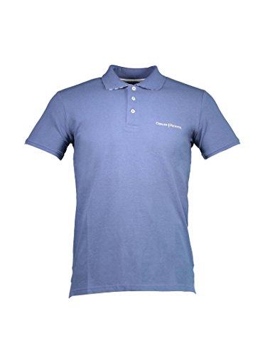 CESARE PACIOTTI CP29PS Polohemd mit kutzen Ärmeln Harren blau AVIO