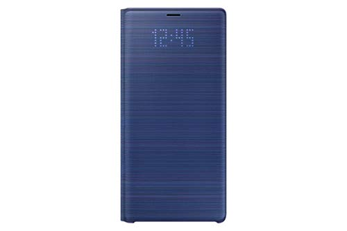 e4d40a3c34726 Samsung Original LED View Wallet Cover Case for Galaxy Note 9 - Blue