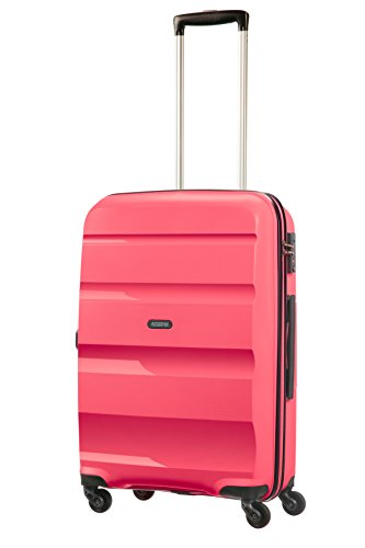 AMERICAN TOURISTER Bon Air - Spinner M Bagage cabine, 66 cm, 57.5 liters, Rose (Fresh Pink)