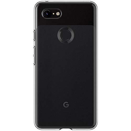Spigen Liquid Crystal, Google Pixel 3 XL Hülle, F20CS25022 Transparent TPU Silikon Handyhülle Durchsichtige Schutzhülle Flex Case (Crystal Clear)