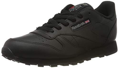 Reebok Classic Leather, Zapatillas Unisex Niños, Negro Black 50149, 36 EU