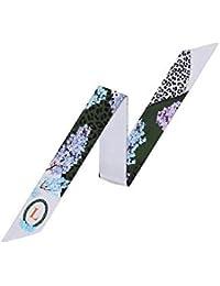 Felix   SiLK Mujer Niña Carta Tarot Reversible Bufanda Fulares Bufanda de  Cuello Diademas Corbatas Twilly 2b7770c9716
