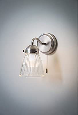 Garden Trading Pimlico Bathroom Wall Light, Glass from Garden Trading