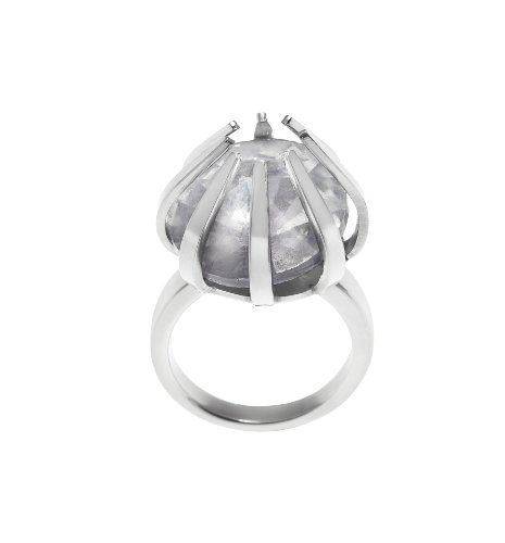 Renaissance Life Damen-Ring Edelstahl Zirkonia 53 (16.9) 2.5 mm WO2012302RSL