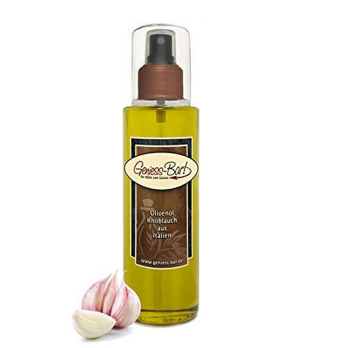 Sprühöl Knoblauch Olivenöl aus Italien 0,26L sehr aromatisch kaltgepresst Pumpspray -