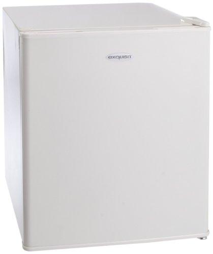 Exquisit KB45-1A+ Mini-Kühlschrank / A+ / 109.50 kWh/Jahr / 41 Liter Kühlteil / 6 Liter Gefrierteil / 52.5 cm Höhe / weiß