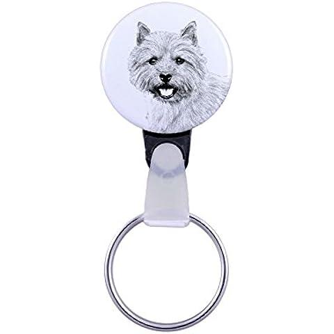 Norwich Terrier, Un llavero con un perro