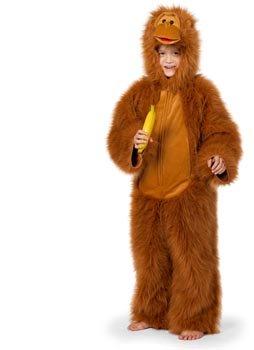 Wilbers Federbein Junior Gorilla Deluxe Kinder Kostüm (11–12Jahre) (Deluxe Gorilla-kostüm)