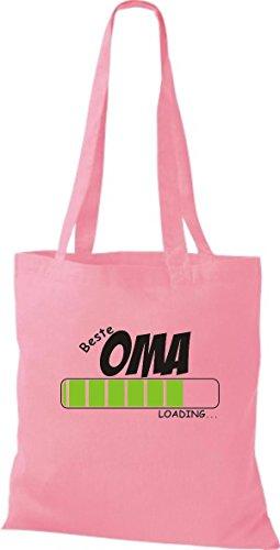 Camicia In Tessuto Borsa In Cotone Borsa Migliore Oma Caricamento Colore Rosa Rosa