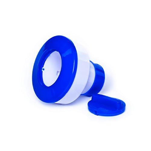 Dosierschwimmer für 200 g Chlor-Tabletten mit Stellring