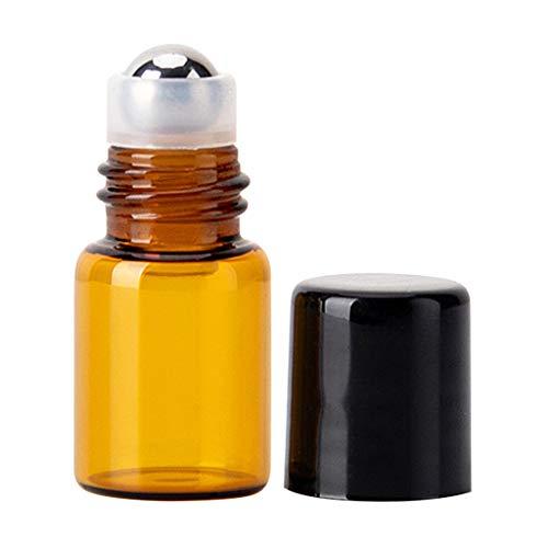 XXguang Ätherische Öle Roller Flaschen,Glasflaschen Edelstahl Roller Bällen für aromaöl