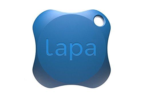 Lapa 2 Bluetooth Tracker - un dispositivo mobile per ritrovare le chiavi, il portafoglio, la borsa, i vostri animali domestici e persino il vostro Smartphone (Blu)