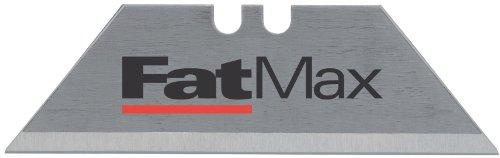 Stanley FatMax Trapezklingen (0.65 mm Klingenstärke, S3-Technologie, bruchfest bis zu 35 kg, 10 Stück im Spender) 2-11-700 -